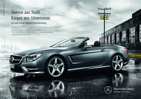 mercedes ads mercedes benz launches media caign for the new sl