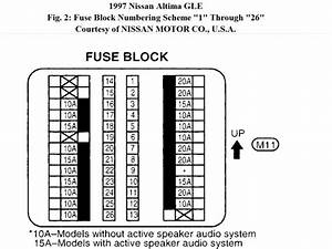 1994 Nissan Altima Fuse Box Diagram