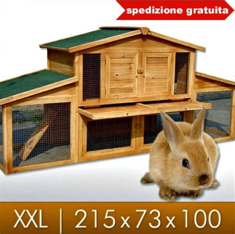gabbia  conigli nuova spedizione gratuita