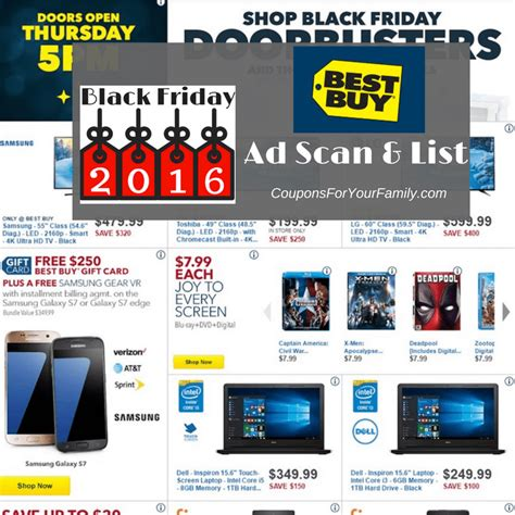 buy black friday deals  ad scan