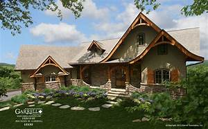 Hot Springs Cottage House Plan - Gable Country-Farmhouse