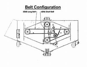Swisher Model T14560b Mower Deck Genuine Parts