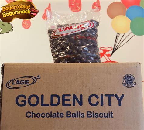 lagie chocoball karton bogor coklat snack