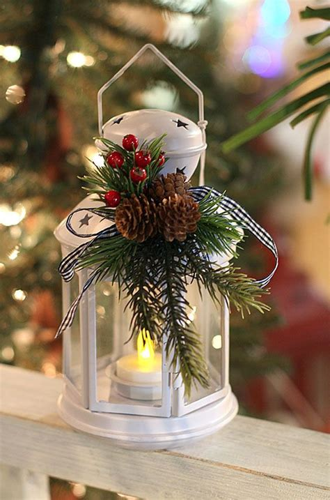 top christmas lantern decorations  brighten pinterest
