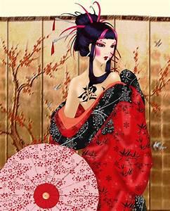 Traditional Japanese Geisha Art | Modern Geisha Part One ...