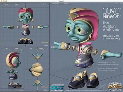 Character 3d Animation Evolution Desktop Dreamlight Surfacing