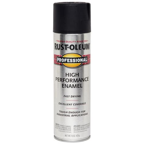 Shop Rustoleum Professional Black Rust Preventative Spray