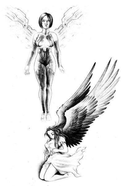 Jesse Santos - Book of angels | Angel tattoo designs, Tattoo designs, Angel