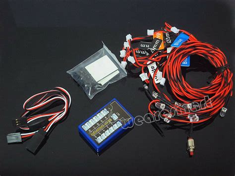 12 Led Rc Car Flashing Light System Le858 For Rc Truck 1