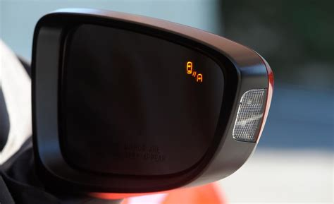 blind spot monitor car and driver