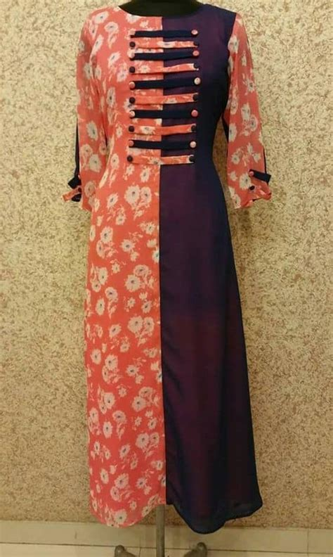 latest kurti designs patterns simple craft ideas