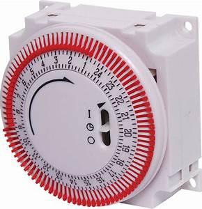 16a 240vac Manual Mains Timer Switch  24 Hour 240v Mains