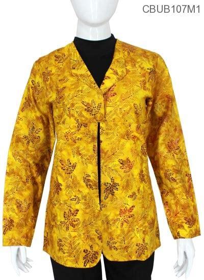 blazer batik pevita kuning batik wanita exclusive murah