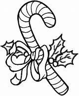 Candy Cane Canes Coloring Pages sketch template