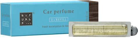 rituals car perfume bol rituals is a journey autoparfum refill