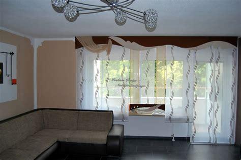 Moderner Und Heller Schiebevorhang Fürs Wohnzimmer