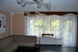 Moderne Wohnzimmer Vorhänge : moderner und heller schiebevorhang f rs wohnzimmer gardinen deko ~ Sanjose-hotels-ca.com Haus und Dekorationen