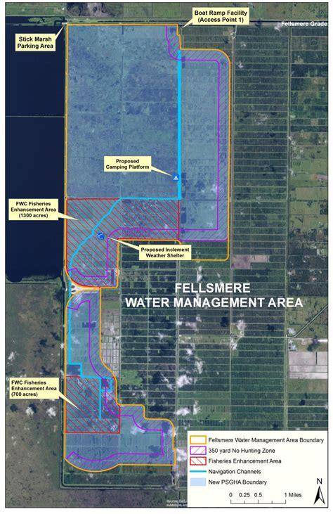 fellsmere fishing ramp plan site delays mecca draft recreation