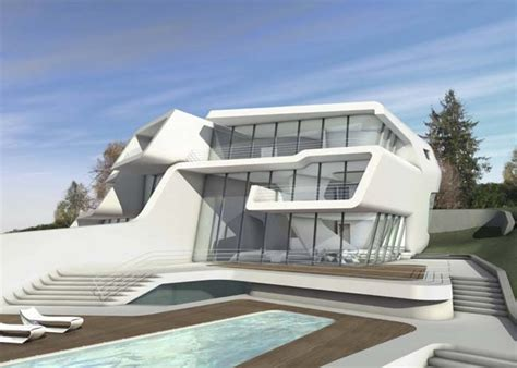 ceiling designs for bedrooms futuristic house by zaha hadid architects