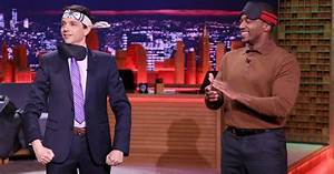 Anthony Mackie, Ralph Macchio face off in Jimmy Fallon's ...