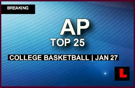 ap top  college basketball  ncaa rankings prompts