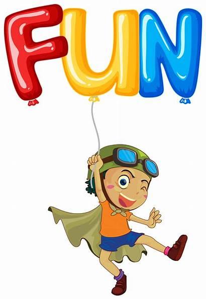 Word Fun Boy Vector Balloon Clipart Keywords