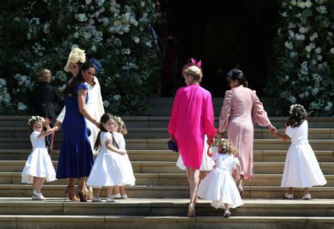 royal wedding   looked   bridesmaids