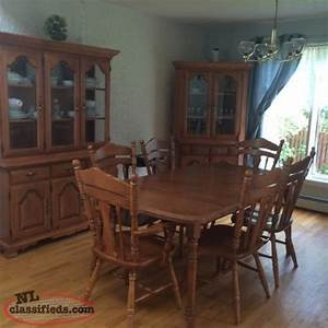 Solid Maple Formal Dining Room Set StJohn39s Newfoundland