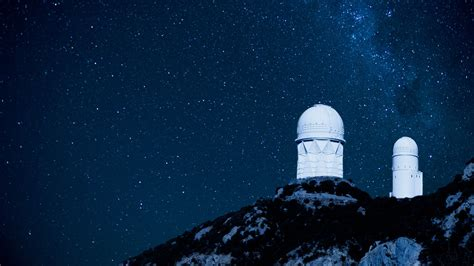 City At Night Wallpaper Kitt Peak National Observatory On Hilltop Tucson Arizona Usa Windows 10 Spotlight Images