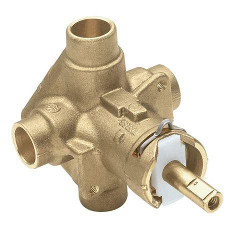 install moen kitchen faucet moen brass in posi temp pressure balancing cycling