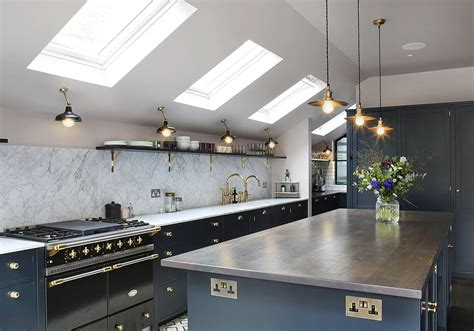 Amazing Kitchen Design With Touches Of Gold by Amazing Kitchen Design With Touches Of Gold Decoholic