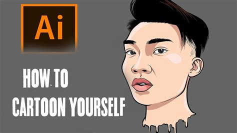 cartoon  step  step ricegum tutorial
