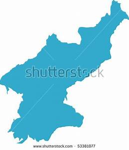 North Korea Map Stock Images, Royalty-Free Images ...