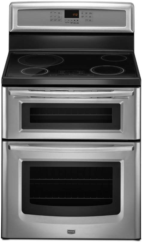 Maytag MIT8795BS 30 Inch Freestanding Induction Double