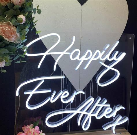 Mini Happily Ever After Led Neon Sign By Love Inc ...