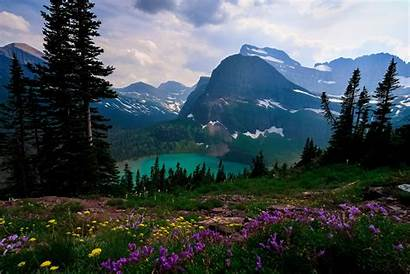 Montana Lake Grinnell Mt