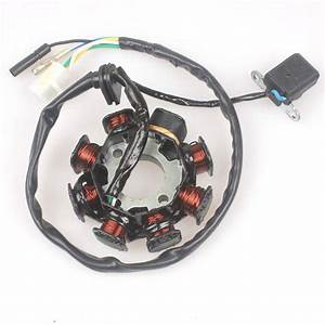 Ignition Stator Magneto 8 Coil 5 Wires For Gy6 50cc 60cc