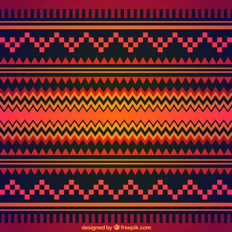 Tribal Background Geometric Tribal Background Vector Free