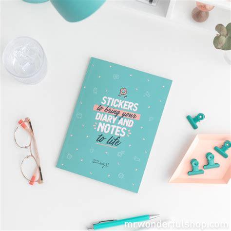 Quaderno Con Adesivi Per Dare Vita Alla Tua Agenda E Alle