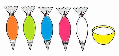 Icing Clipart Cookies Bag Clip Outline Rim