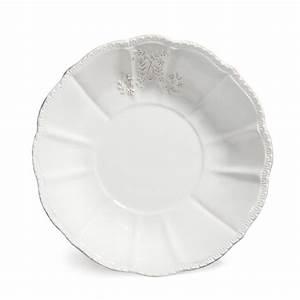 Assiette Creuse Blanche : assiette creuse en fa ence blanche d 20 cm bourgeoisie ~ Teatrodelosmanantiales.com Idées de Décoration