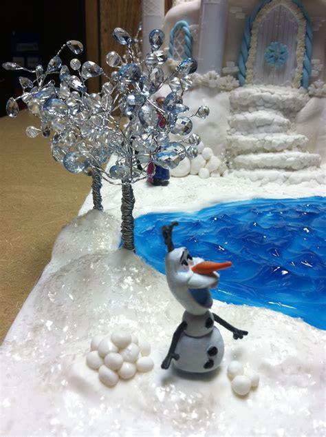 Frozen Figure Glitter Isi 6pcs part of our disney quot frozen quot cake disney frozen cake