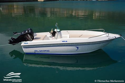 Olympic Boat by Olympic 4 90 Sx Mercury 30hp 747cc No Licence Needed