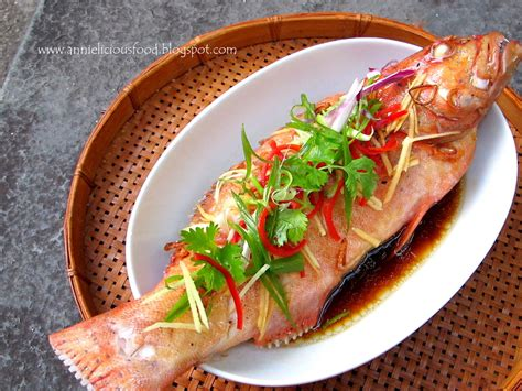 grouper steamed fish food canto way freshest probably enjoy simple