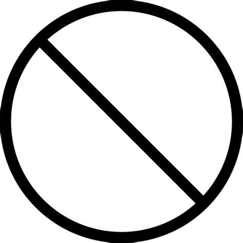 8 No Circle Icon Images Transparent No Sign Clip Art