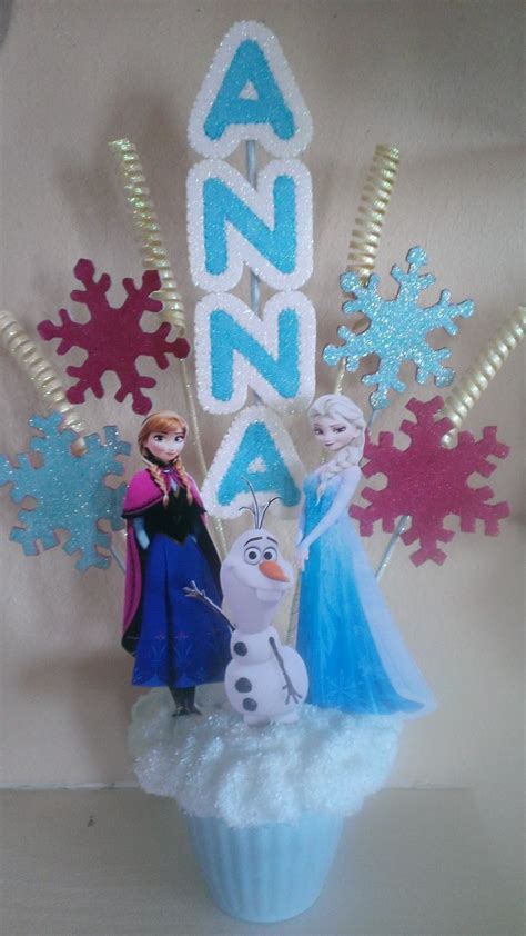 Personalized Frozen Centerpiece Frozen Birthday Party