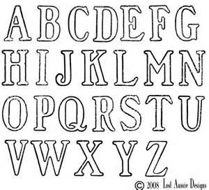 large alphabet letter stencils to print