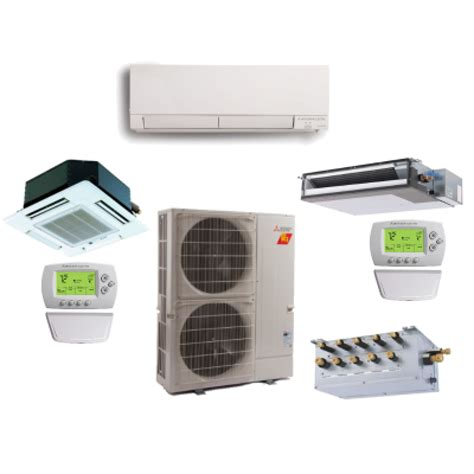 Mitsubishi Heat Pumps Prices by Mitsubishi 5 Zone 42k Btu Heat Hyper Heat With Up To