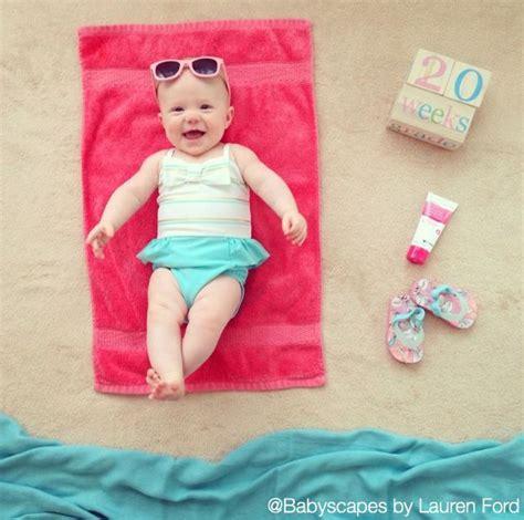 catching  rays cute baby photo weekly photo beach