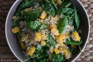 Spinat Als Salat : butternut quinoa spinat k rbissalat rezept ~ Orissabook.com Haus und Dekorationen